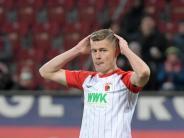 Rückkehr unbekannt: FCA gegen Stuttgart weiter ohne Finnbogason