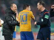 Fußball: Braunschweigs Coach Lieberknecht wütet nach Pokal-Aus