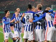 Fußball: Herthas Lust wächst - Heidenheim «kein Freilos»