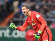 Fußball: Wiedwald bleibt trotz Patzer Werders Nummer eins