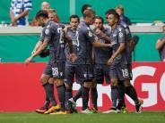 Fußball: Union Berlin verhindert Pokal-Aus in Duisburg
