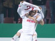 2:1 gegen Hoffenheim: Köln jubelt auch im Pokal: Umkämpfter Sieg