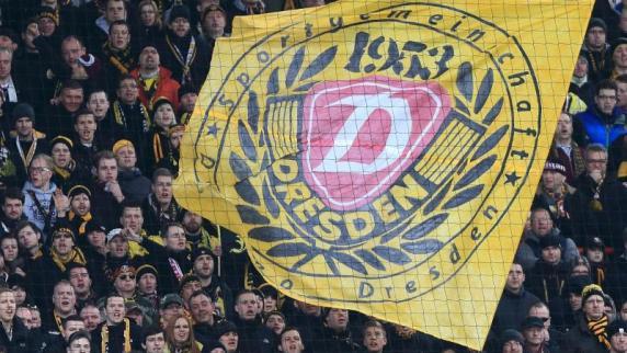 Born: «nicht verhältnismäßig»: Bullenkopf-Wurf: Dynamo Dresden legt Berufung ein