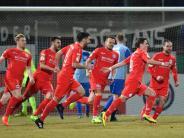 Walldorf-Amateure gescheitert: Bielefeld mit Glück im Viertelfinale