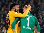 DFB-Pokal: Frankfurts Elfmeter-Held Hradecky