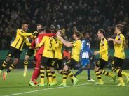 Nach Pokal-Krimi: Nervenstark ins Viertelfinale: BVB feiert Dembélé und Bürki