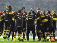 Noch mehr Bayern-Frust: BVB-Euphorie pur:Mit großem Sieg ins Finale