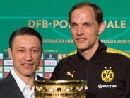 Finale in Berlin: Titel-Sehnsucht: BVB und Eintracht hoffen auf Pokaltriumph