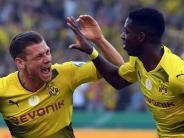 DFB-Pokal 2017: Pokalfinale: Die Teams aus Dortmund und Frankurt in der Einzelkritik