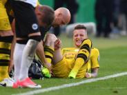 Verletzung im DFB-Pokalfinale: BVB-Star Reus fällt monatelang aus: Teilriss des Kreuzbandes
