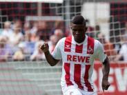 Grünes Licht für den Stürmer: Kölns Cordoba fit für Spiel beim Fünftligisten Leher TS