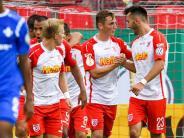 DFB-Pokal: Regensburg versetzt Bundesliga-Absteiger Darmstadt K.o.