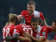 DFB-Pokal: Düsseldorf siegt in Bielefeld - Hennings trifft doppelt