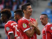 5:0 in Chemnitz: Bayern wieder obenauf - Hoeneß erwartet «viel Spaß»