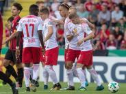 DFB-Pokal: Nach Anlaufproblemen noch 5:0 - Leipzig in der zweiten Runde