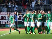 1. Runde: Außenseiter FC Schweinfurt wirft SV Sandhausen aus DFB-Pokal