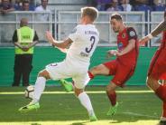 Frühe Tore: Wehen Wiesbaden schmeißt Erzgebirge Aue aus dem DFB-Pokal