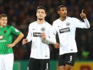 Klarer Auswärtssieg: Haller führt Frankfurt zum Pokalerfolg in Schweinfurt