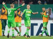 Eine Pokalrunde weiter: Matchwinner Hazard: Endlich getroffen für Gladbach