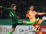 Zittersieg: Werder kann noch siegen - Pokalerfolg gegen Hoffenheim