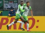 Im Pokal-Viertelfinale: Wolfsburg mit 2:0-Sieg gegen Nürnberg in die Pause