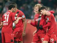 Matchwinner Bellarabi: Leverkusen gewinnt Pokal-Fight 4:2 gegen Werder Bremen