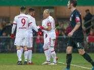 6:0-Sieg im DFB-Pokal: Endlich Gegenwehr:Bayern loben Paderborn