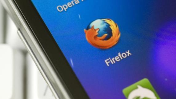 Firefox erscheint als betriebssystem für das handy