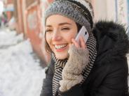 Technik im Winter: Eisige Elektronik: Kälte kann Mobilgeräten schaden