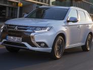 Test: Mitsubishi Hybrid Outlander: Wehe, wenn der Saft ausgeht
