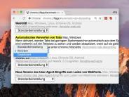 Funktion deaktivieren: Tabs in Google Chrome nicht verwerfen