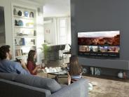 Riesig, smart und modular: Fernseh-Visionen auf der CES