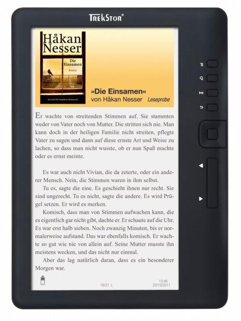 Смена обычных LCD-экранов на E-ink и повлекла за собой резкую популярность электронных