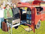 Projekt: Alter Anhänger  wurde zum Partymobil