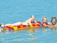 Gundelfingen: Neuhofsee: Idylle für Genießer und Adrenalin für Wassersportler