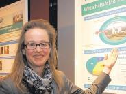 Porträt: Diese Frau kombiniert Idylle und Atomkraft - auch in der Region