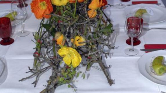 Prüfung: Floristen im Ausnahmefall im Rosenschloss - Augsburger Allgemeine