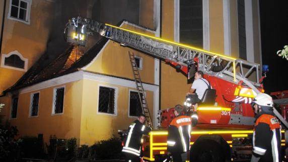 Kreis Dillingen: Großbrand im Kloster: Schwester stirbt an Rauchvergiftung