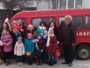 Landkreis Dillingen/Ukraine: Ein Bus für die Fahrt zur Schule