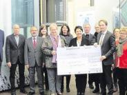 Losverkauf: Gartner spendet 20000 Euro