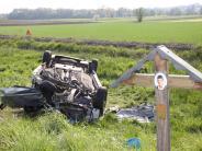38-Jährige aus dem Kreis Dillingen...: Schwerer Zusammenstoß auf der Staatsstraße bei Reatshofen
