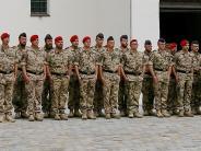 Appell: Dillinger Soldaten nach Mali und Afghanistan verabschiedet