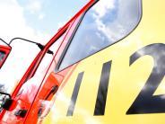 Zusmarshausen: Auto brennt auf Seitenstreifen der A8
