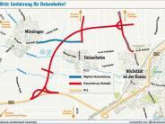 Deisenhofen: B16 Nord: Gibt es doch noch eine Entlastung für Deisenhofen?