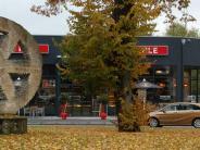 Landkreis Dillingen: Wie gefährlich Kunst auf dem Kreisverkehr ist
