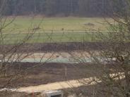 Zöschingen: Natursee, Friedhof und Radweg