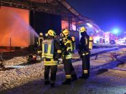 Großbrand: Hat der Sontheimer Feuerteufel wieder zugeschlagen?