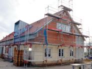 Lutzingen: Ein neues Gewand für das alte Sportheim