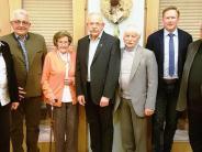 Gundelfingen: Insgesamt 360 Jahre bei der CSU