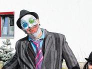 Fasching: Den Narren in Donaualtheim lacht die Sonne